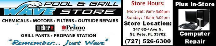 Wave Pool And Grill Logo